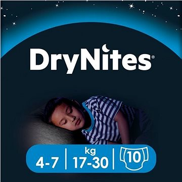 HUGGIES Dry Nites Medium - Boys (10ks)