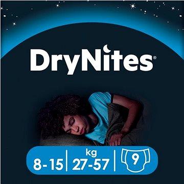 Huggies Dry nites absorpční kalhotky 8-15 let/boys/25-57kg 9ks