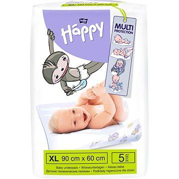 Přebalovací podložka Bella Baby Happy 60x90 cm, 5 ks