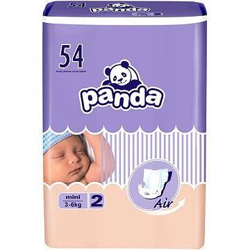 Plenky Panda Mini 54 ks + ZDARMA Vlhčené ubrousky HAPPY Baby Čisticí ubrousky 24 ks