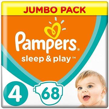 PAMPERS Sleep&Play Maxi vel. 4 (68 ks) - Jumbo Pack (4015400203551)