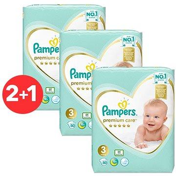 PAMPERS Premium Care Midi vel. 3 (240 ks)