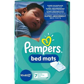 PAMPERS Bed Mats do postele 90 × 80 cm, 7 ks (4015400333449)