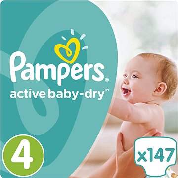 Pampers active maxi 7-14 Kg 147 ks