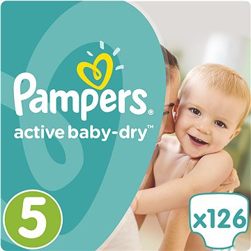 PandG Pampers Active Baby vel. 5 (126ks)