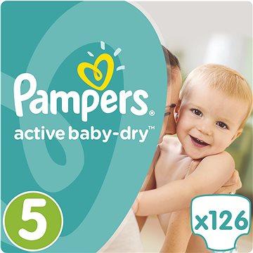 PandG Pampers Active Baby vel. 5 (126ks)