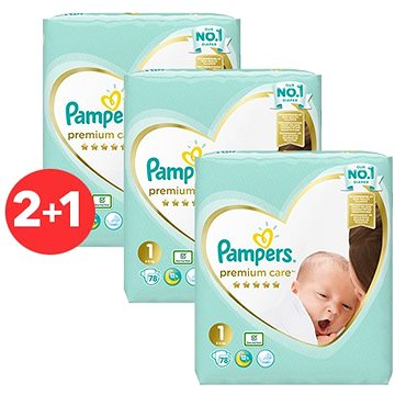 PAMPERS Premium Care Newborn vel. 1 (264 ks)