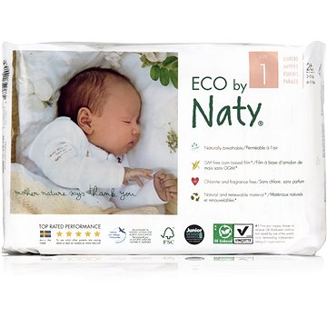 NATY Nature Babycare Newborn vel. 1 (26 ks) (7330933140539)