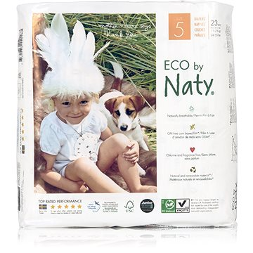NATY Nature Babycare Junior vel. 5 (23 ks) (7330933150187)