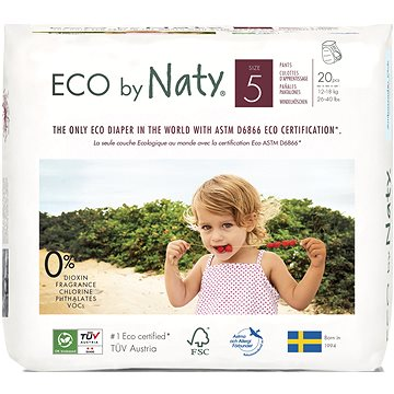 NATY Nature Babycare Junior vel. 5 (20 ks) (7330933031349)