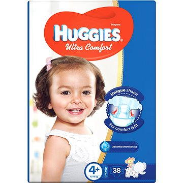 HUGGIES Ultra Comfort 4+ (38 ks) (5029053531021)