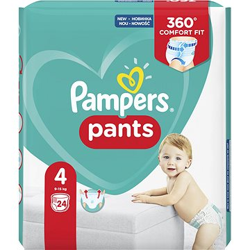 PAMPERS Pants Carry Pack vel. 4 Maxi (24 ks) (4015400672647)