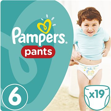 PAMPERS Pants vel. 6 Extra Large Carry Pack (19 ks) (4015400673378)