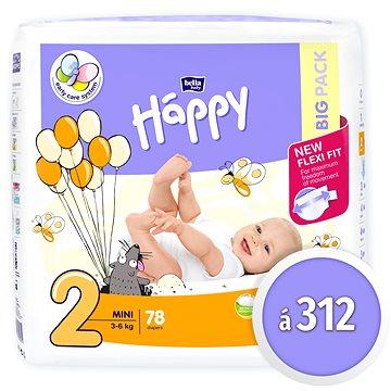 BELLA Baby Happy Mini vel. 2 (312 ks)