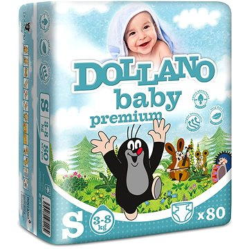 DOLLANO Baby Premium S 80 ks (8594180970182)