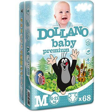 DOLLANO Baby Premium M 68 ks (8594180970199)