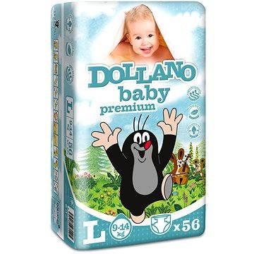 DOLLANO Baby Premium L 56 ks (8594180970205)