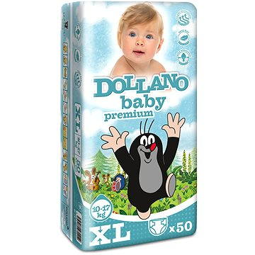 DOLLANO Baby Premium XL 50 ks (8594180970212)