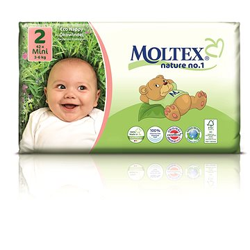 MOLTEX nature no. 1 Mini 3 - 6 kg (42 ks) (4018639009758)