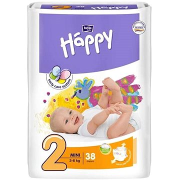 BELLA Baby Happy vel. 2 Mini (38 ks) (5900516600709)