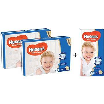 HUGGIES Ultra Comfort Jumbo vel. 3 (2+1 ZDARMA)
