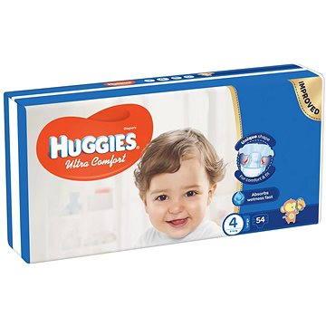 HUGGIES Ultra Comfort Jumbo vel. 4 (54 ks) (5029053562902) + ZDARMA Dětské vlhčené ubrousky HUGGIES Pure 56 ks