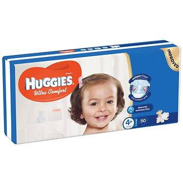 HUGGIES Ultra Comfort Jumbo vel. 4+ (50 ks) (5029053562919) + ZDARMA Vlhčené ubrousky HUGGIES Pure 56 ks