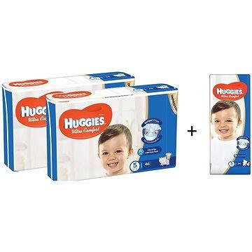 HUGGIES Ultra Comfort Jumbo vel. 5 (2+1 ZDARMA)