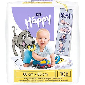 BELLA Baby Happy Dětské podložky 60 × 60 cm, 10 ks (5900516601669)