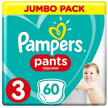 PAMPERS Pants vel. 3 Midi (60 ks) - Jumbo Pack (4015400682882)
