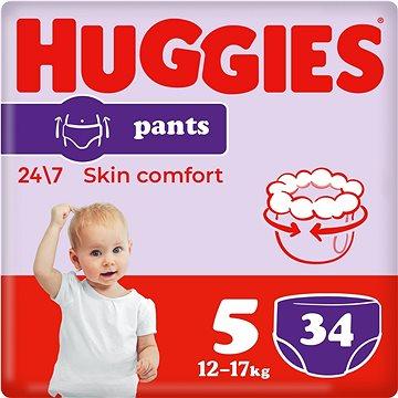 HUGGIES Pants Jumbo - 5 (34 ks) (5029053564432)