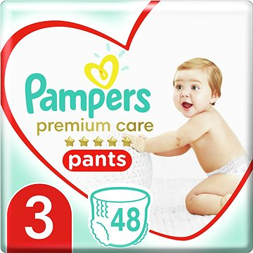 PAMPERS Pants Premium Care Midi vel. 3 (56 ks) (4015400732198)