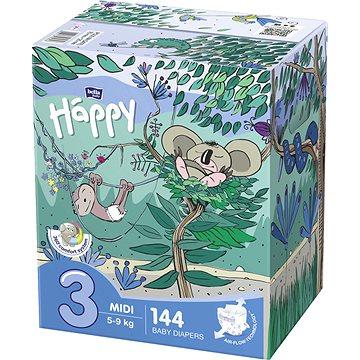 BELLA Baby Happy Midi Box vel. 3 (144 ks) (5900516130848)