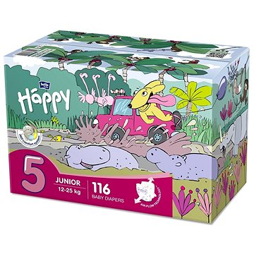 BELLA Baby Happy Junior Box vel. 5 (116 ks) (5900516130909)