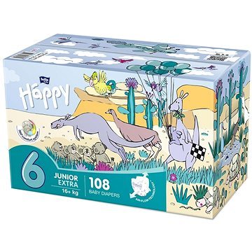 BELLA Baby Happy Junior Extra Box 108 ks (5900516130855)