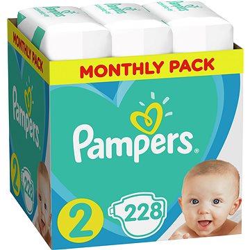 PAMPERS New Baby vel. 2 (228 ks) (8001841219257)