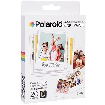 """Polaroid Zink 3x4"""" 20ks (POLZL3X420)"""