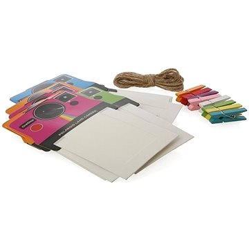 Rámeček Polaroid na instantní fotografie 2x3 barevný mix (PL2X3FRCLR)