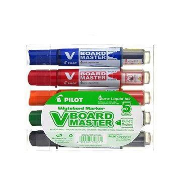 PILOT V-Board Master 2.3mm sada 5-ti barev (WBMA-VBM-S5)