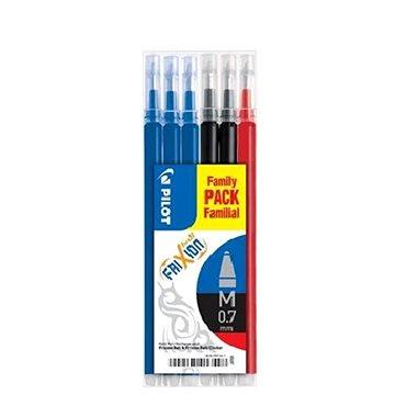 PILOT Frixion Ball/Clicker 0.35mm 3 barvy - balení 6ks (BLS-FR-7-3L-BBR-S6)