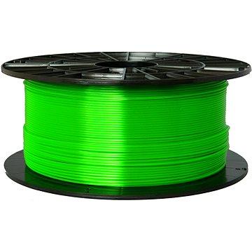 Plasty Mladeč 1.75mm PETG 1kg transparentní zelená (F175PETG_TGR)