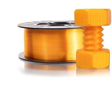 PLASTY MLADEČ 1.75mm PETG 1kg transparentní žlutá (F175PETG_TYE)