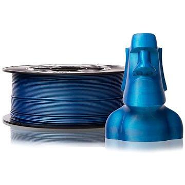 PLASTY MLADEČ 1.75mm PLA 1kg perlová modrá (F175PLA_BLP)