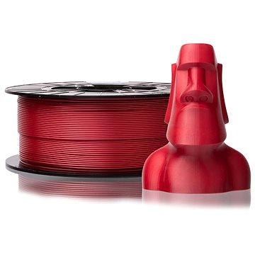 PLASTY MLADEČ 1.75mm PLA 1kg perlová červená (F175PLA_REP)