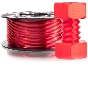 Plasty Mladeč 1.75 PETG 1kg transparentní červená (F175PETG_TRE)