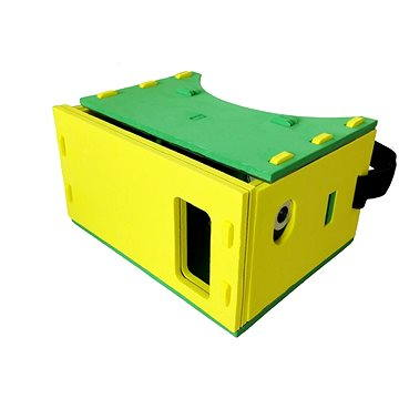 PanoBoard Foam Edition - unofficial Google CardBoard - žluté (PBRD-FOAM-YEL)
