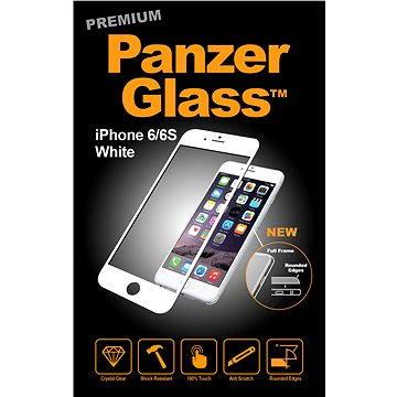 PanzerGlass Premium pro iPhone 6 a iPhone 6S bílé (1005)