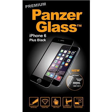 PanzerGlass Premium pro iPhone 6 Plus a iPhone 6s Plus černé (1004)