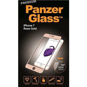 PanzerGlass Premium pro iPhone 7 růžovo zlaté (2603)