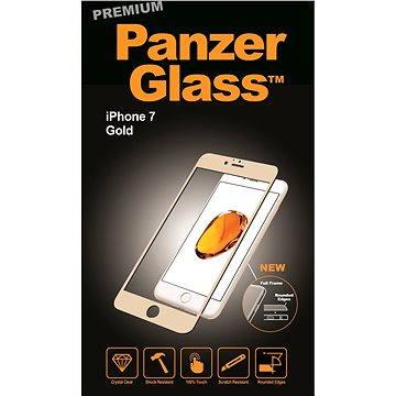 PanzerGlass Premium pro iPhone 7 zlaté (2602)